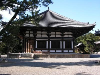 唐招提寺金堂3-20091231