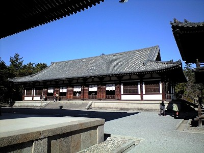 唐招提寺講堂1-20091231