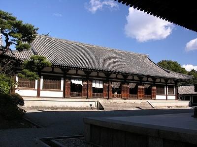 唐招提寺講堂2-20091231