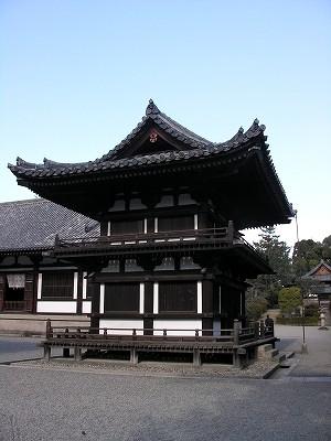 唐招提寺鼓楼20091231