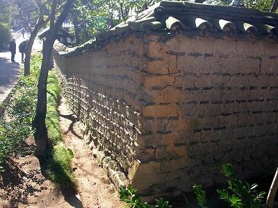 唐招提寺土塀2-20091231