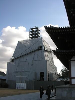 薬師寺東塔20091231