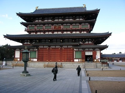 薬師寺金堂2-20091231