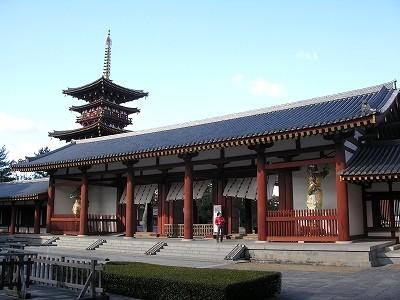 薬師寺中門20091231