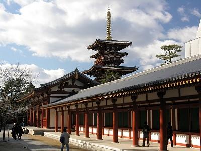 薬師寺回廊20091231