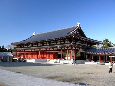 薬師寺講堂20091231