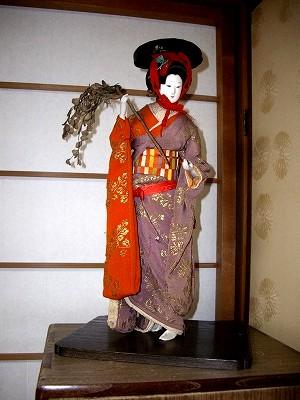 お人形20091231