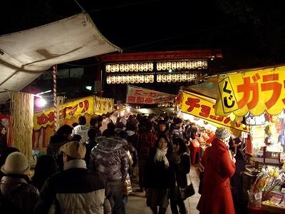 八坂神社境内20091231