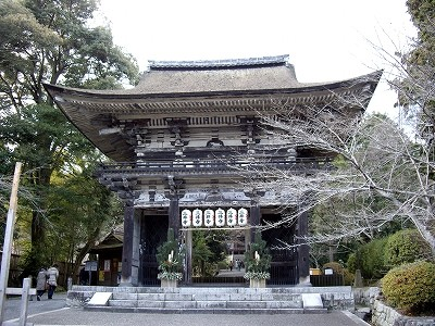 三井寺仁王門20100101