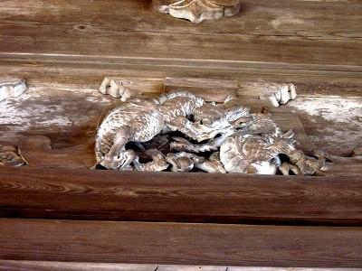 三井寺の龍20100101
