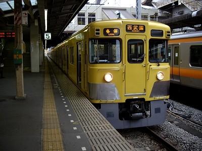 西武電車9000系20100306