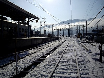 永平寺口駅構内20100220