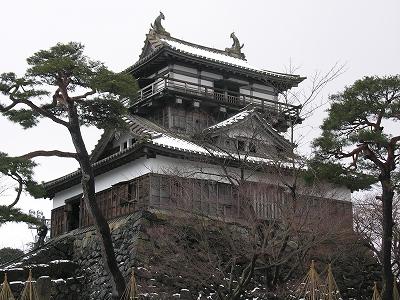 丸岡城天守閣1-20100220