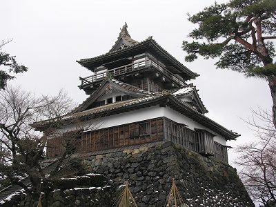 丸岡城天守閣2-20100220
