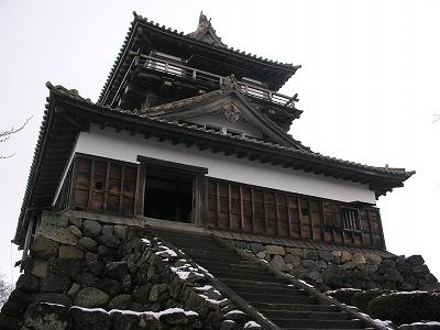 丸岡城天守閣3-20100220