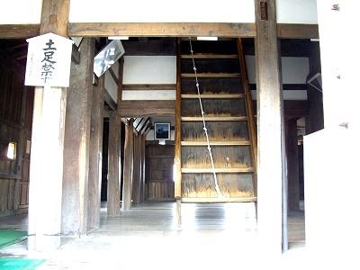 丸岡城天守内部1-20100220