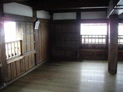 丸岡城天守内部4-20100220