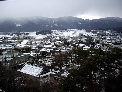 丸岡城天守より20100220