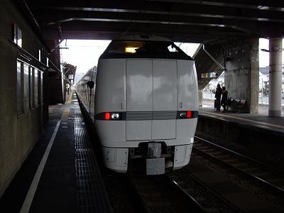 特急しらさぎ・芦原温泉20100220