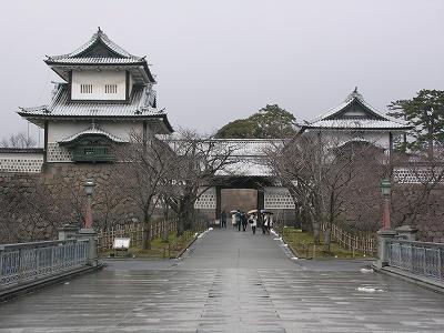 金沢城石川門20100220