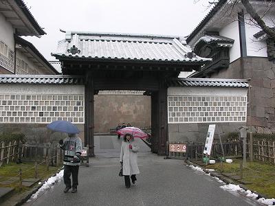 金沢城・石川門4-20100220