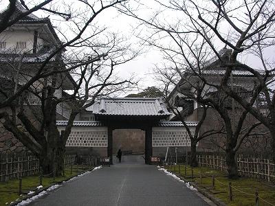 金沢城・石川門5-20100220