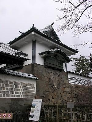 金沢城・石川門6-20100220