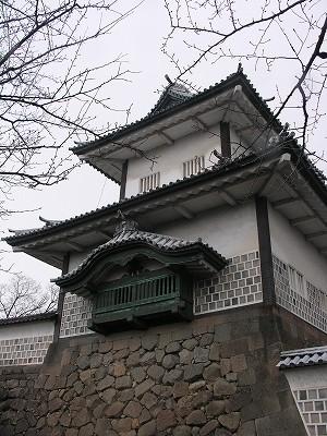 金沢城・石川門7-20100220