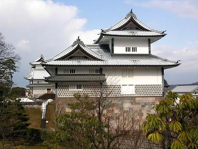 金沢城・五十間長屋と橋爪門続櫓2010022020100220