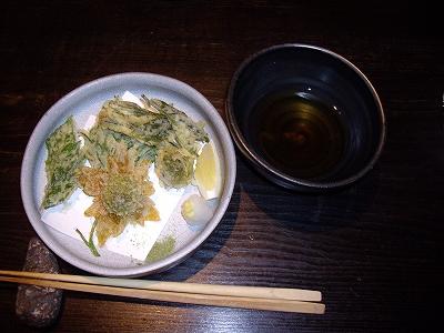 山菜の天ぷら20100424