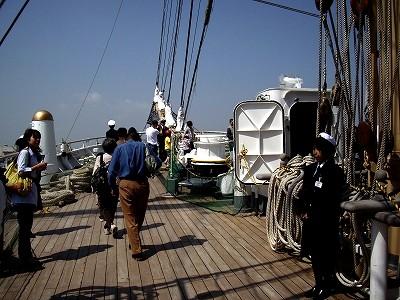 日本丸甲板20100503