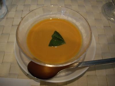 トマトの冷製クリームスープ20100815