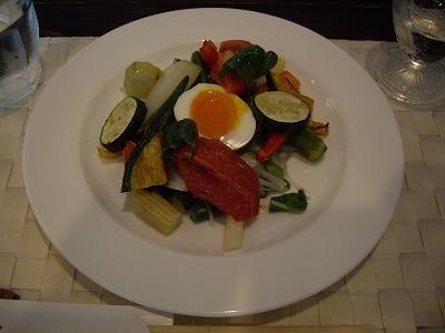 夏野菜たっぷりのサラダ20100815
