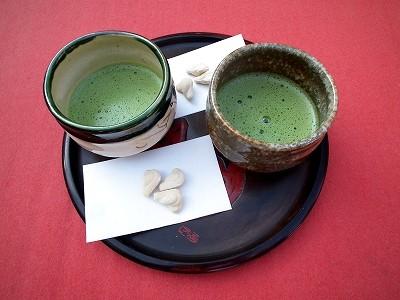 円覚寺仏日庵のお茶20101205