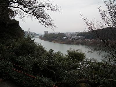 石山寺瀬田川遠景20101230