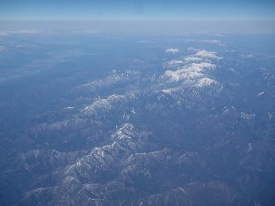 南アルプス方面20110108