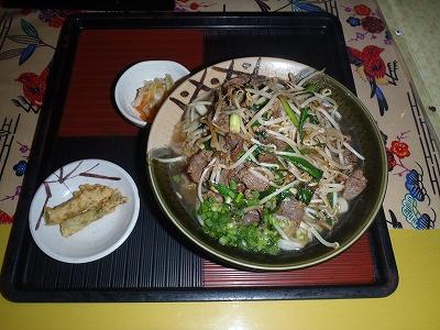 牛肉そば20110110