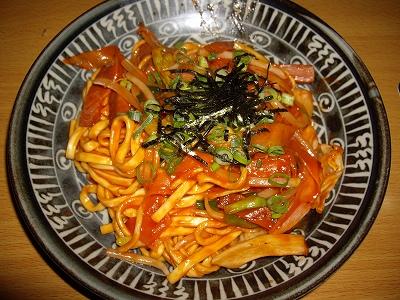 沖縄焼きそばケチャップ味20110123
