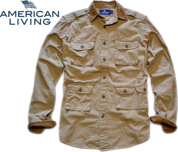 01アメリカンリビング画像ハンティングシャツ