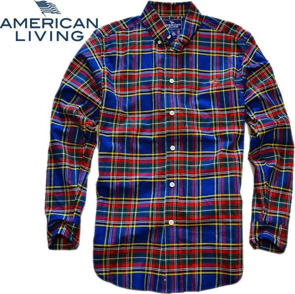 06アメリカンリビング画像チェックシャツ