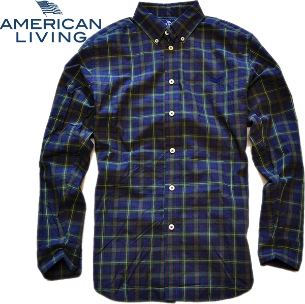 05アメリカンリビング画像チェックシャツ