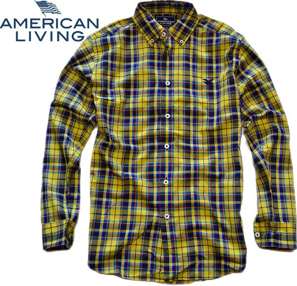 01アメリカンリビング画像チェックシャツ