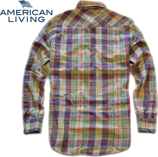 04アメリカンリビング画像チェックシャツ