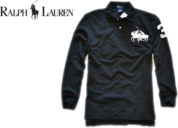 05ラルフローレン画像ビッグポニー長袖ポロシャツ