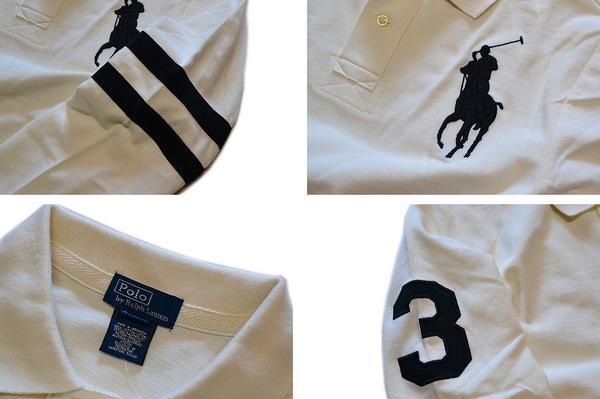 02ラルフローレン画像ビッグポニー長袖ポロシャツ