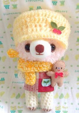 プレゼント編み