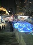 夜の東京ドームシティ