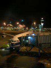 香港で乗った飛行機