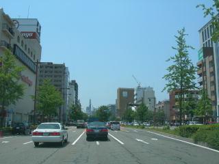 名古屋の道