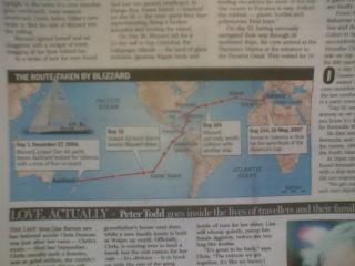 新聞記事の地図